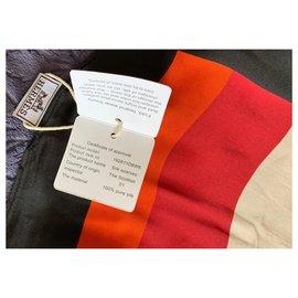 Hermès-Schal 140x140-Mehrfarben