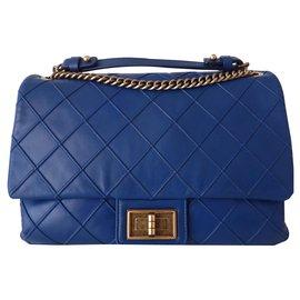 Chanel-SAC CHANEL 2.55-Bleu