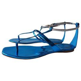 Dior-Sandales-Bleu