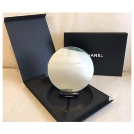 Chanel-Miroir de maquillage avec support CHANEL-Noir