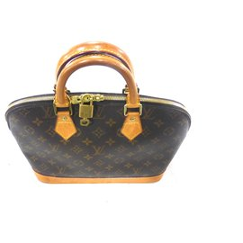 Louis Vuitton-ALMA PM MONOGRAM-Marron
