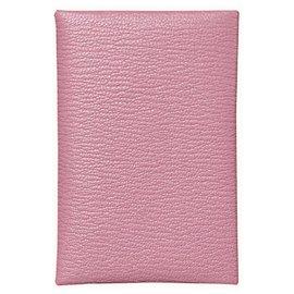 Hermès-Geldbörsen, Geldbörsen, Fälle-Pink