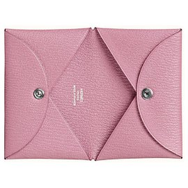 Hermès-Purses, wallets, cases-Pink