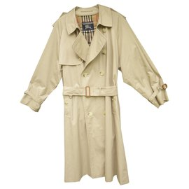 Burberry-trench Burberry vintage taille 50 état impeccable-Beige