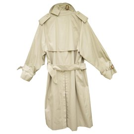 Burberry-vintage Burberry trench 50 immaculate condition-Beige