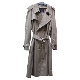 Burberry-Men Coats Outerwear-Beige