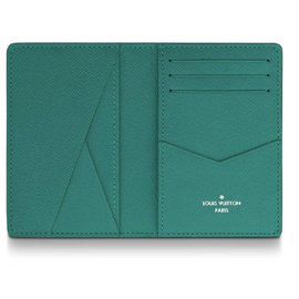 Louis Vuitton-LouisVuitton mens wallet new-Green