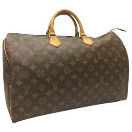 Louis Vuitton-Louis Vuitton Speedy 40-Marron