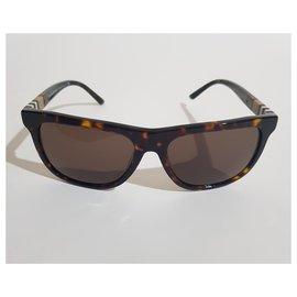 Burberry-Sonnenbrille-Braun