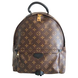 Louis Vuitton-Louis Vuitton Palm Springs Monogram MM-Marron