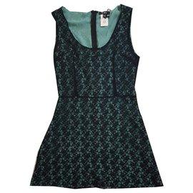 Costume National-Dresses-Black,Green