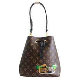 Louis Vuitton-Louis Vuitton NeoNoe Monogram-Marron
