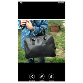 Céline-Handbags-Dark grey