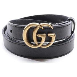 Gucci-Double G Belt-Black