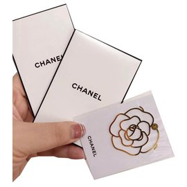 Chanel-CHANEL Camellia Bookmark-Golden