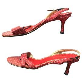 Jimmy Choo-Jimmy choo sandals by cruise-Red