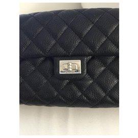 Chanel-Pochette ceinture Chanel Uniform-Noir