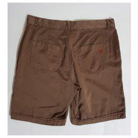 Twin Set-short-Marron