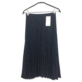 1edcd00f221e6d Jupe plissée en tweed midi - S inter