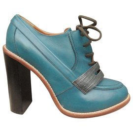 Chloé-Chloé heel derbies in mint condition-Blue