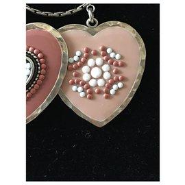 Gas-Halsketten-Silber