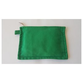 Hermès-Pochettes-Vert