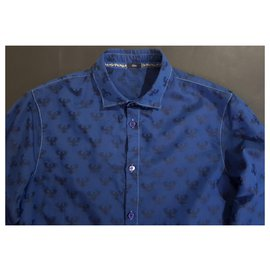 Emporio Armani-Shirts-Blue