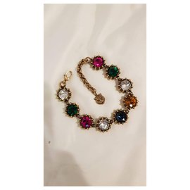 Gucci-Gucci Bracelet et boucles d'oreilles-Multicolore,Autre