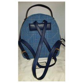 Gucci-Gucci Marmont sac à dos kpack-Bleu