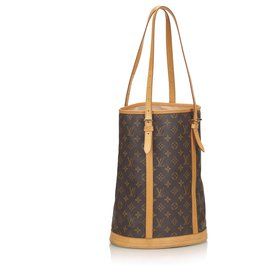 Louis Vuitton-Louis Vuitton Seau Monogramme Marron GM-Marron