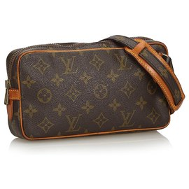 Louis Vuitton-Louis Vuitton Bandoulière Marly Monogram Marly-Marron