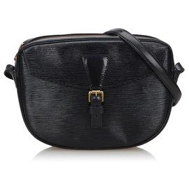 Louis Vuitton-Louis Vuitton Black Epi Jeune Fille-Black