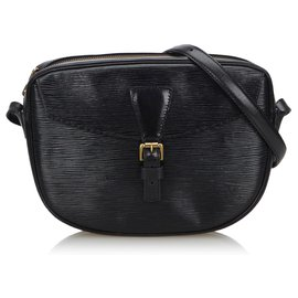 Louis Vuitton-Louis Vuitton Black Epi Jeune Fille-Noir