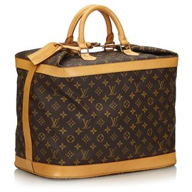 Louis Vuitton-Louis Vuitton Brown Monogram Cruiser 40-Marron