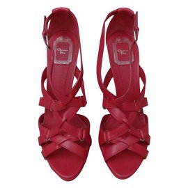 Dior-Sandales-Rouge