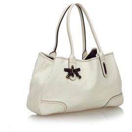 Gucci-Gucci Sac cabas blanc Guccissima Princy-Blanc