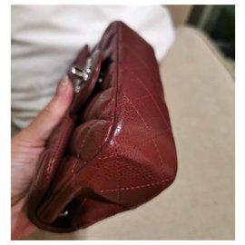 Chanel-Chanel extra mini sac bordeaux intemporel bordeaux-Bordeaux