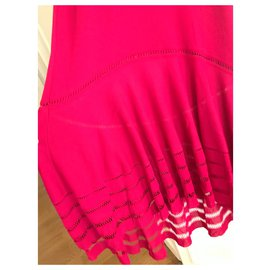 Alexander Mcqueen-Beautiful Pink Dress-Fuschia