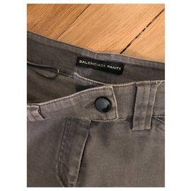 Balenciaga-jeans slim-Gris