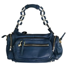 Chloé-Blue Shoulder Bag-Blue