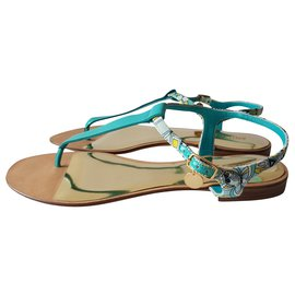 Emilio Pucci-Sandals-Multiple colors,Light green