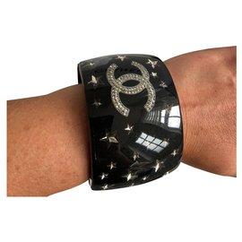 Chanel-Armbänder-Schwarz