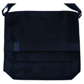 Issey Miyake-Bags Briefcases-Black