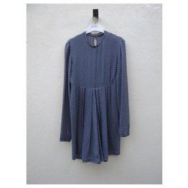 Balenciaga-Robes-Gris