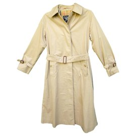 Burberry-Waterproof Burberry vintage size 38-Beige