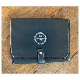 Lancel-Wallets Small accessories-Black,Beige