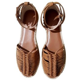 French Connection-Sandals-Brown