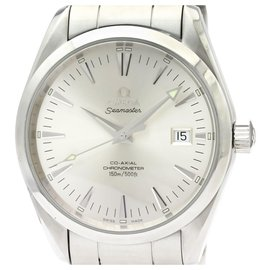 Omega-Omega Silver Edelstahl Aqua Terra Co-Axial Automatic 2503.30-Silber,Weiß