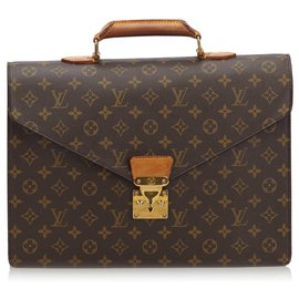 Louis Vuitton-Louis Vuitton Brown-Monogramm-Servietten-Conseiller-Braun