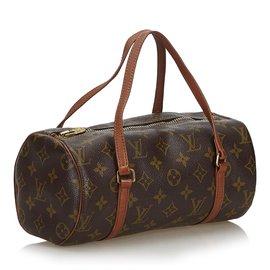 Louis Vuitton-Louis Vuitton Brown Monogram Papillon 26-Brown